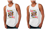 King and King Gays Cards couples Pride Tank Tops