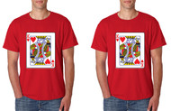 King and King Gays Cards couples Pride Tshirts