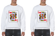 King and King Gays Cards couples Pride Sweatshirts