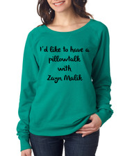 A Pillowtalk with Zayn Malik Ladies pullover Long Sleeve