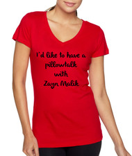 A Pillowtalk with Zayn Malik Women V-neck Tshirt