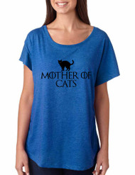 Game of Thrones Mother Of Cats Women Triblend Dolman