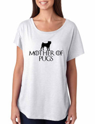 Game of Thrones Mother Of Pugs Women Triblend Dolman