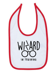 Wizard In Training Baby Bib