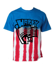 Happy 4th of july MEN tee shirt US FLAG