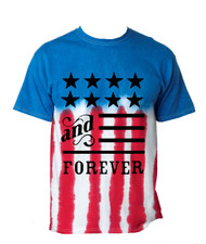 American anf forever MEN tee shirt US FLAG