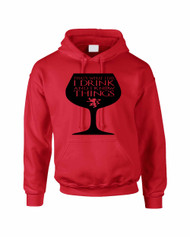 Adult Hoodie That's What I Do I Drink And Know Things Wing Glass Lannister Top Game Of Thrones Inspired