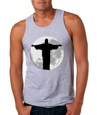 Men's Tank Top Moon Jesus T Shirt Cool Stuff