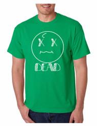 Men's T Shirt Dead Face Cool Funny Humor Shirt