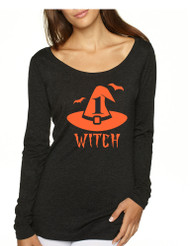 Women's Shirt Witch 1 2 Cool Funny Halloween Costume Shirt