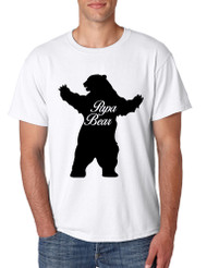 Men's T Shirt Papa Bear Family Shirt For Dad Xmas Cute Gift