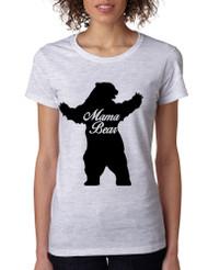 Women's T Shirt Mama Bear Family Top For Mom Xmas Cute Gift