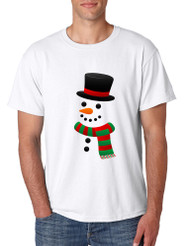 Men's T Shirt Snowman Ugly Christmas Xmas Gift Cool Holiday Top