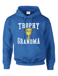 Adult Hoodie Trophy Grandma Cool Xmas Love Family Gift Top