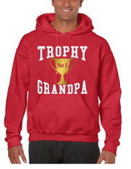 Men's Hoodie Trophy Grandpa Cool Xmas Gift Love Family Top