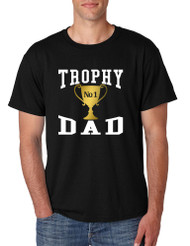Men's T Shirt Trophy Dad Love Father Shirt Daddy Cool Gift