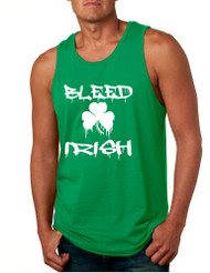 Men's Tank Top Bleed Irish St Patrick's Party Top Love Irish