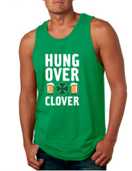 Men's Tank Top Hungover Clover St Patrick's Day Party Top
