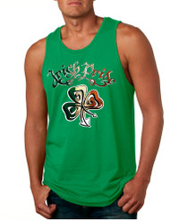 Men's Tank Top Irish Pride Shamrock St Patrick's Day Top