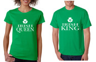 Couple T Shirt Irish Queen Irish King St Patrick's Party Shirt Set