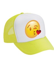 Emoji Kiss Valucap Foam Trucker Cap