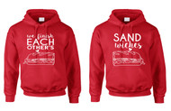 Couple Hoodies We Finish Each Other's Sandwiches Valentine's Day