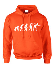 Adult Hoodie Pool Snooker Evolution Humor Billiards Top