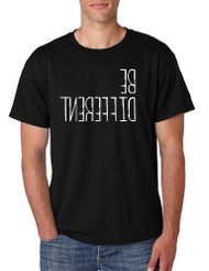 Men's T Shirt Be Different Motivation Creative Thinking Tee