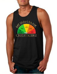 Men's Tank Top My Iron Bank Credit Score Lannister Top
