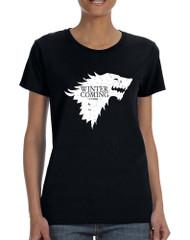 Women's T Shirt Winter Is Coming Cool T Shirt Popular Gift