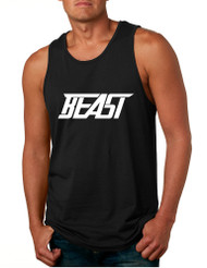 Men's Tank Top Beast Cool Sidemen Trendy Hot Top