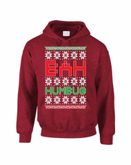 Bah Humbug Christmas Women Hooded Sweatshirt