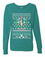 HO! HO! HO! Ladies Long Sleeve