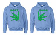 Best Buds couples gifts Hooded Sweatshirt
