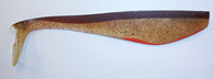 "FISH TRAP 8"" #32 GOLDEN BROWN BAIT / ORANGE"