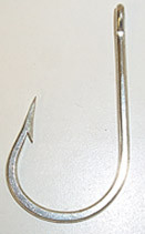 MUSTAD 7691DT FORGED DURATIN SOUTHERN TUNA HOOK #8/0