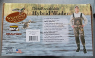 CADDIS DURABREATHABLE HYBRID BOOTFOOT 5mm MAX-4 WADER sz 8