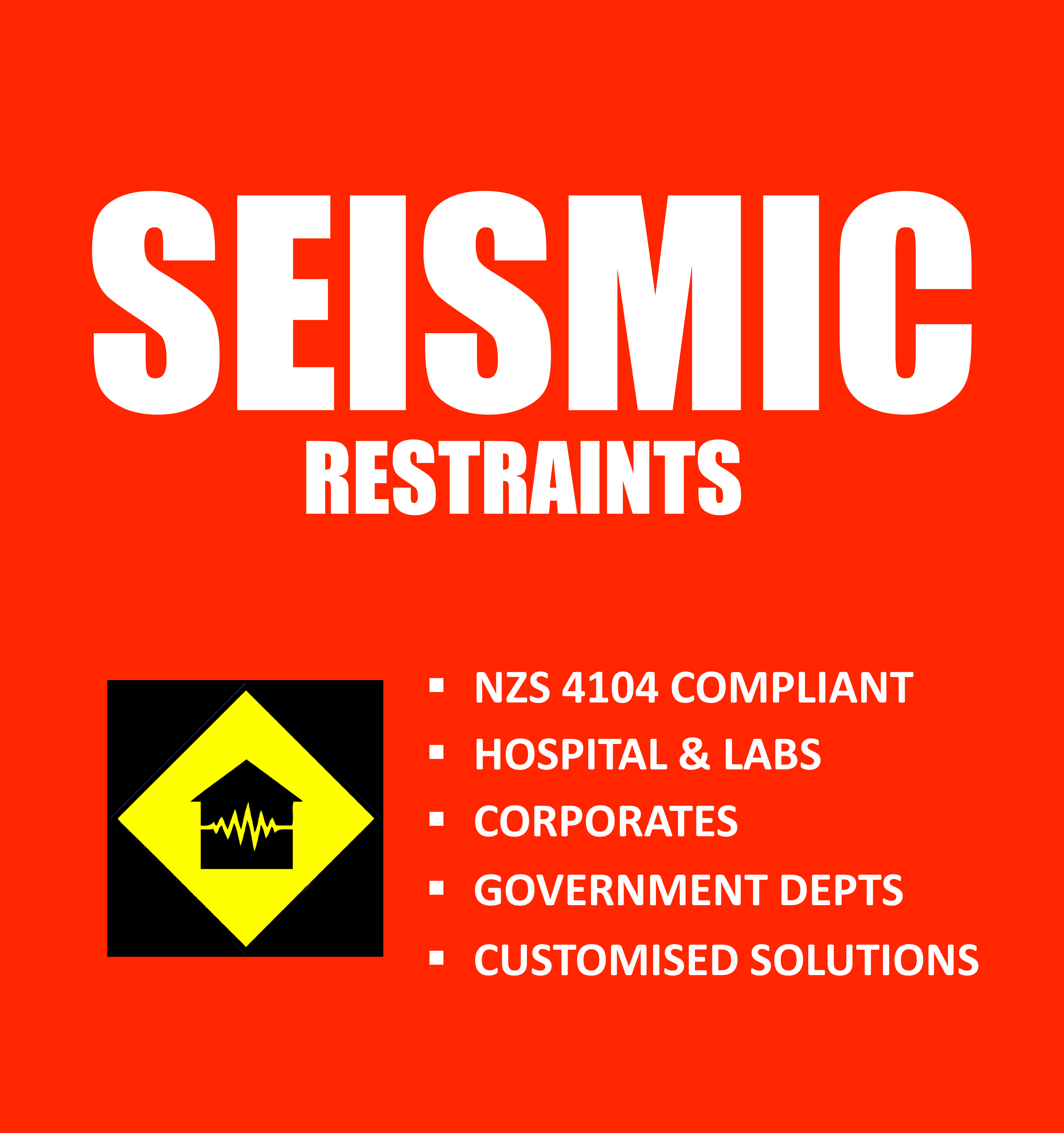 NZS 4104 Compliant, Hospital & Labs, Corporates, Government Depts, Customised Solutions
