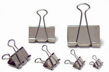 Foldback Clips - Nickle-Plated - 25mm