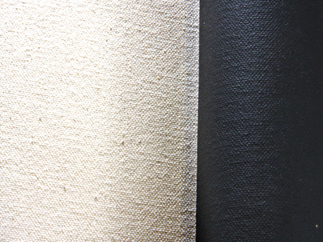 "12oz Black Gesso Double Primed 84"" Canvas"