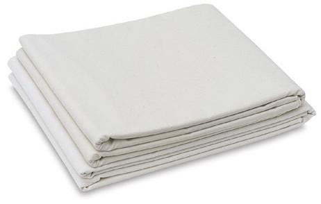 "Folded Canvas Blankets - 10oz Unprimed 72"" x 3m"