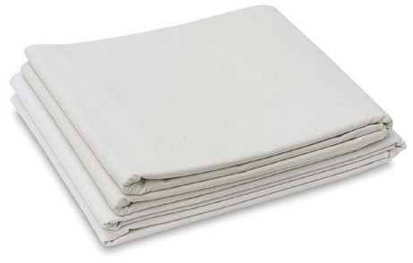 "Folded Canvas Blankets - 12oz Unprimed 72"" x 3m"