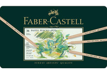 Faber Castell Pitt Pastel Pencils 36 Tin Set