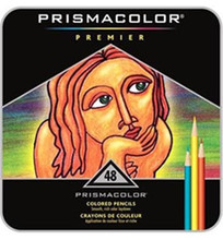 Prismacolor Premier Soft Core Colored Pencils 48 Set