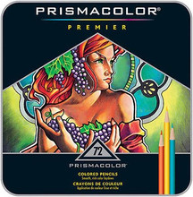 Prismacolor Premier Soft Core Colored Pencils 72 Set