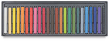 Conte A Paris  Flat Plastic Box Set Crayons - 24 Assorted Colours