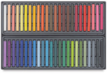 Conte A Paris  Flat Plastic Box Set Crayons - 48 Assorted Colours