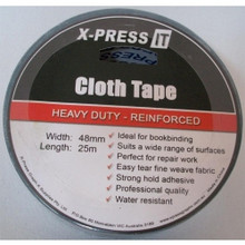 X-Press It Cloth Tape (Gaffa) 48mm x 25m - Black