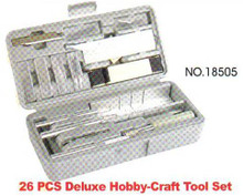 Deluxe Hobby Craft Tool Set