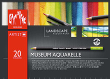 Museum Aquarelle Assort. 20 Box Landscape   |  3510.420